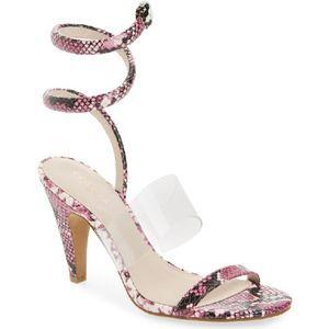 CECELIA NEW YORK Sabrina Ankle Wrap Sandals 6